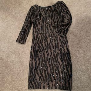Women's NWOT sparkly cocktail dress, size S
